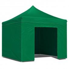 Тент садовый быстросборный Helex 4331 S8.1, 3x3м зеленый