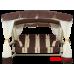 Садовые качели Arno Эдем Люкс 76 Слоновая кость Коричнево-бежевая