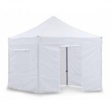 Тент садовый быстросборный Helex 4330 S8.1, 3x3м белый