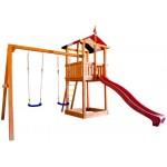 Детские дачные уличные комплексы. Качели, горки и игровые площадки для дачи.