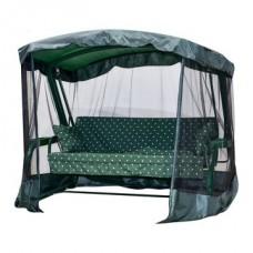 Садовые качели Ранго зеленый горошек