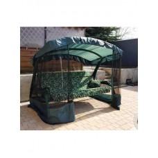 Садовые качели Мадагаскар зелёный вензель