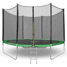 Батут Happy Jump 16ft PRO (490см)  с внешней сеткой и лестницей