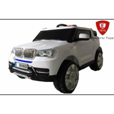Двухместный детский электромобиль Electric Toys BMW X5 Lux белый