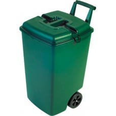 Контейнер для мусора на колесах OUTDOOR BIN 90L зеленый