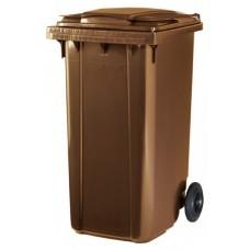 Контейнер для мусора ESE 240 л коричневый
