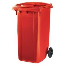 Контейнер для мусора ESE 240 л красный