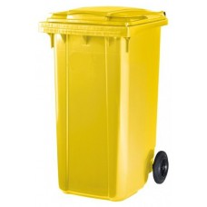 Контейнер для мусора ESE 240 л желтый