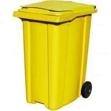 Мусорный контейнер ESE 360 л желтый