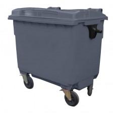 Контейнер для мусора пластиковый 660 л серый, Razak