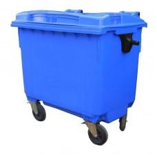 Контейнер для мусора пластиковый 660 л синий, Razak