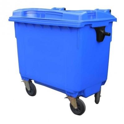 Контейнер для мусора пластиковый 660 л синий, Razak фото
