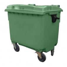 Контейнер для мусора пластиковый 660 л зеленый, Razak