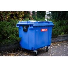 Мусорный контейнер SULO 1100 л синий