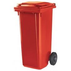 Контейнер для мусора ESE 120 л красный