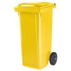 Контейнер для мусора ESE 120 л желтый