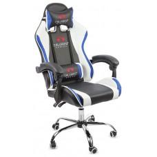 Офисное кресло Calviano ULTIMATO black/white/blue