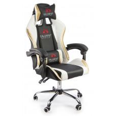 Офисное кресло Calviano ULTIMATO black/white/golden