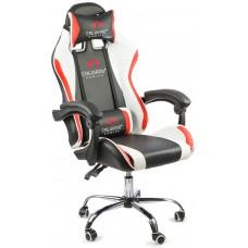 Офисное кресло Calviano ULTIMATO black/white/red