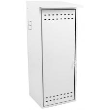 Шкаф для газового баллона ComfortProm оцинкованный, белый