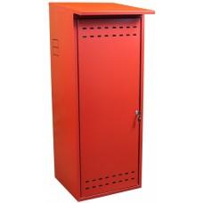 Шкаф для газового баллона ComfortProm оцинкованный, красный