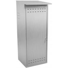 Шкаф для газового баллона ComfortProm оцинкованный, серый