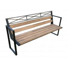 Скамейка садовая СК43