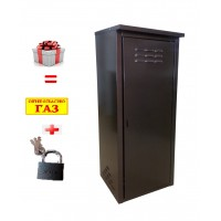 Шкаф для газовых баллонов на 1 баллон 50л (Коричневый)
