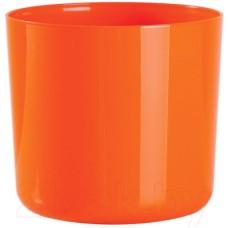 Горшок для цветов BigPlast Alegra 38531 (апельсиновый)