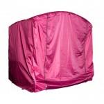 Чехол-укрытие для садовых качелей Универсальный 2,4 м бордовый оксфорд