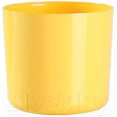 Горшок для цветов BigPlast Alegra 38678 (мягкий желтый)