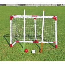 Хоккей JC-101A набор для игры на траве красно-белый