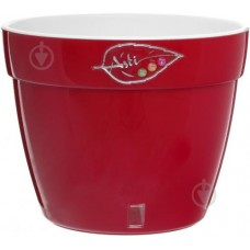 Кашпо Santino Asti 12 л (красный/белый) [AS5 ROS-ALB]