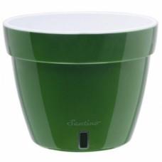 Кашпо Santino Asti 9 л (зеленое золото/белый) [AS4 VEA-ALB]
