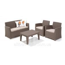 Набор мебели Corona lounge set капучино