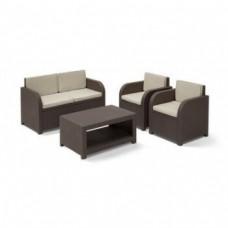 Набор уличной мебели Modena SET коричневый