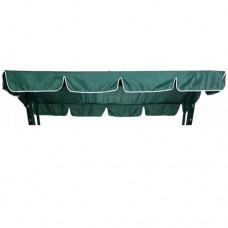 Тент-крыша для садовых качелей Olsa Мастак зеленый оксфорд