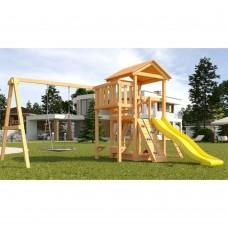 Детская площадка Савушка Мастер - 2 с качелями Гнездо