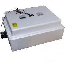 Инкубатор Несушка с аналоговым терморегулятором, цифровой индикацией, на 104 яйца, автопереворот, 12В
