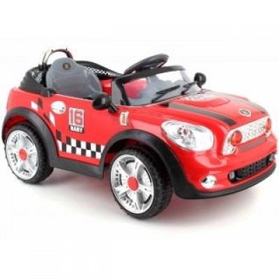Электромобиль Racer MINI COOPER N118 SPORTCAR RED фото