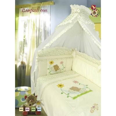 """Детский постельный комплект """"Сладкий сон"""", 7 предметов фото"""