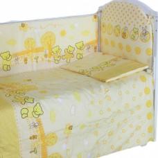 """Детский постельный комплект """"Хоровод"""" 120х60, 6 предметов"""