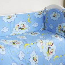 """Детский постельный комплект """"Луна"""" 120х60, 6 предметов"""