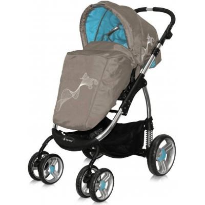 Детская универсальная коляска Bertoni (Lorelli) Plasma (2 в 1) фото
