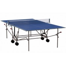 Теннисный стол JOLLA CLIMA outdoor 2014 new, синий с сеткой (11600-N)