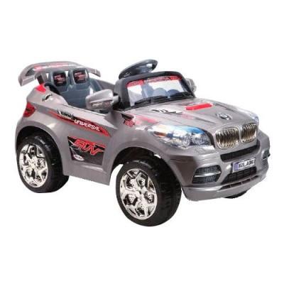 Электромобиль BMW X5 серебристый, Sundays A061