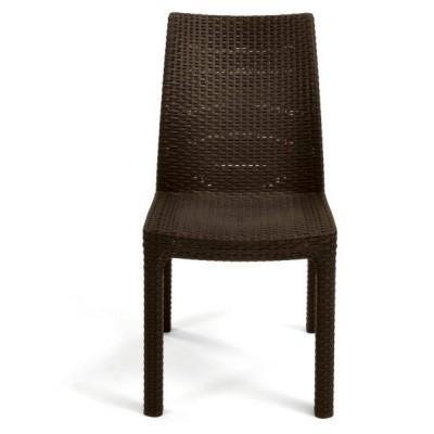 Стул из искусственного ротанга Keter Milan Dining Chair (2 шт в упаковке)