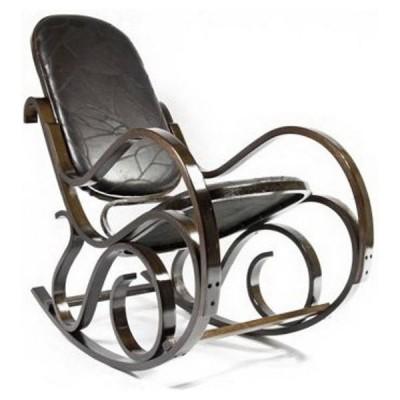 Кресло-качалка Calviano Relax М198 (эко-кожа) фото
