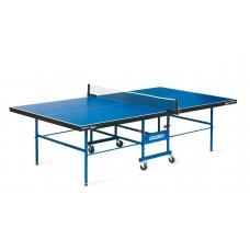 Теннисный стол START LINE SPORT 18 мм, мет.кант, без сетки, полипропилен. ролики, регулируемая опора