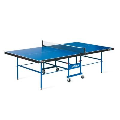 Теннисный стол START LINE SPORT 18 мм, мет.кант, без сетки, полипропилен. ролики, регулируемая опора фото